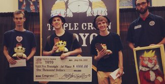 Результаты Triple Crown of YoYo 2014